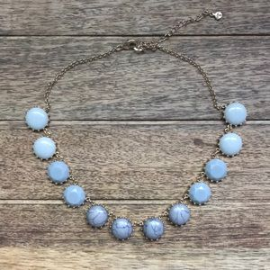 LOFT Gray Stone Necklace